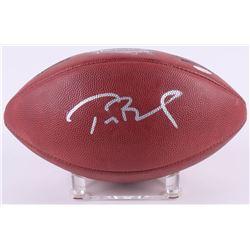 Tom Brady Signed Patriots LE Super Bowl XXXVI Game-Used Football (TriStar Hologram  PSA COA)