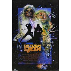 "Harrison Ford Signed ""Star Wars: Return of the Jedi"" 24x36 Poster (Radtke COA)"