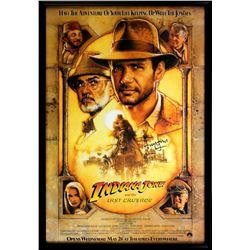 "Harrison Ford Signed ""Indiana Jones: The Last Crusade"" 30x43 Custom Framed Poster (Radtke COA)"