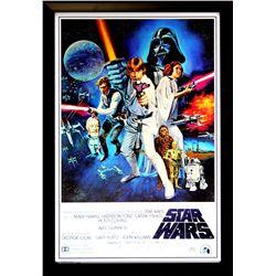 "Harrison Ford Signed ""Star Wars: A New Hope"" 28x40 Custom Framed Poster (Radtke COA)"