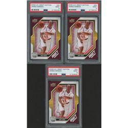 Lot of (3) PSA Graded 9 2009-10 Upper Deck Draft Edition #40 James Harden RC