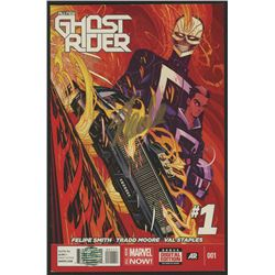 """Stan Lee Signed 2014 """"All-New Ghost Rider"""" Issue #1 Marvel Comic Book (Lee COA)"""