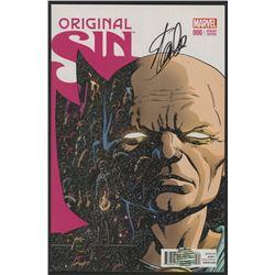 "Stan Lee Signed 2014 ""Original Sin"" Issue #000 Marvel Comic Book (Lee COA)"