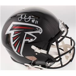 Julio Jones Signed Atlanta Falcons Full-Size Authentic On-Field Speed Helmet (JSA COA)