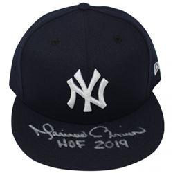 "Mariano Rivera Signed New York Yankees  New Era Snapback Hat Inscribed ""HOF 2019"" (Steiner COA)"