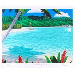 "Dan Mackin - ""Welcome to Paradise"" Signed Limited Edition 20x24 Fine Art Giclee #/275 (Mackin COA  P"