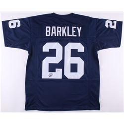 Saquon Barkley Signed Penn State Nittany Lions Jersey (Beckett COA)