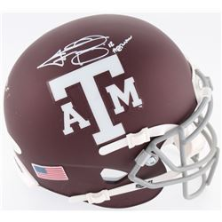 "Johnny Manziel Signed Texas AM Aggies Speed Mini-Helmet Inscribed ""'12 Heisman"" (JSA COA)"
