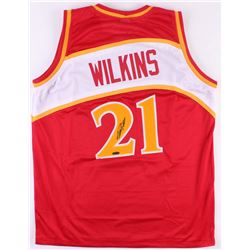 Dominique Wilkins Signed Atlanta Hawks Jersey (Tristar Hologram)