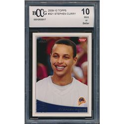 2009-10 Topps #321 Stephen Curry RC (BCCG 10)