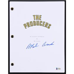 "Mel Brooks Signed ""The Producers"" Full Movie Script (Beckett COA)"