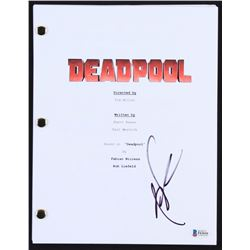 "Rob Liefeld Signed ""Deadpool"" Movie Script (Beckett COA)"