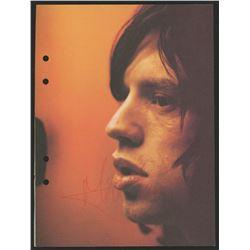 Mick Jagger Signed 6x9 Photo (JSA ALOA)