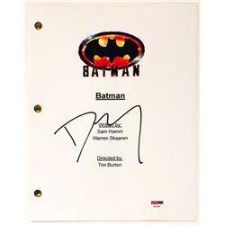 """Danny Elfman Signed """"Batman"""" Full Movie Script (PSA COA)"""