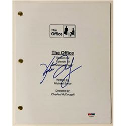 """Kate Flannery Signed """"The Office"""" Full """"Christmas Party"""" Script (PSA COA)"""