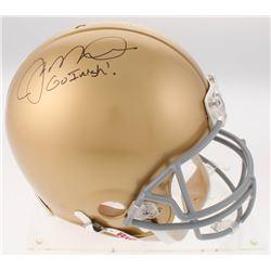 "Joe Montana Signed Notre Dame Fighting Irish Full-Size Authentic On-Field Helmet Inscribed ""Go Irish"