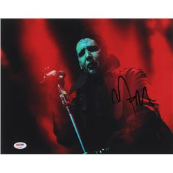 Marilyn Manson Signed 11x14 Photo (PSA COA)