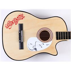 Steven Tyler Signed Full-Size Aerosmith Acoustic Guitar (Beckett COA)
