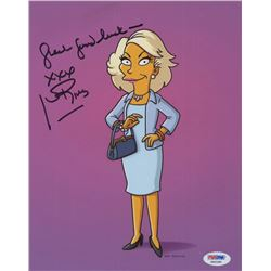 "Joan Rivers Signed ""The Simpsons"" 8x10 Photo Inscribed ""Great Good Luck""  ""XXX"" (PSA COA)"