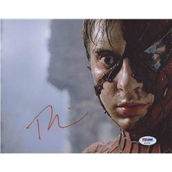 "Tobey Maguire Signed ""Spiderman"" 8x10 Photo (PSA COA)"