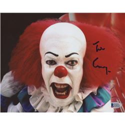 "Tim Curry Signed ""IT"" 8x10 Photo (Beckett COA)"
