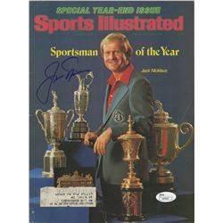 Jack Nicklaus Signed 1978 Sports Illustrated Magazine (JSA COA)