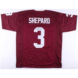 Sterling Shepard Signed Oklahoma Sooners Jersey (Fanatics Hologram)
