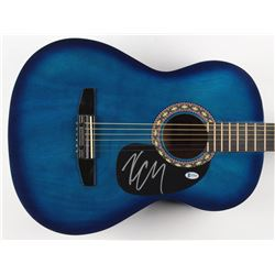 """Kenny Chesney Signed 38.5"""" Rogue Acoustic Guitar (Beckett COA)"""