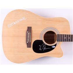 "Lindsey Buckingham Signed 41"" Acoustic Guitar (Beckett COA)"