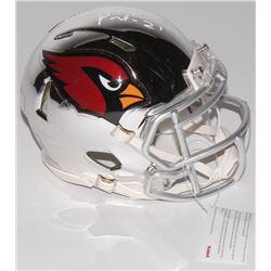 Patrick Peterson Signed Arizona Cardinals Chrome Speed Mini Helmet (Radtke COA)