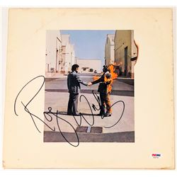 """Roger Waters Signed """"Wish You Were Here"""" Vinyl Album Cover (PSA COA)"""