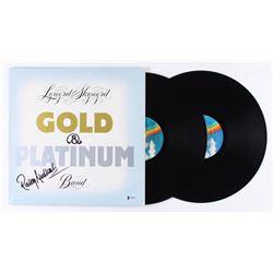 """Rickey Medlocke Signed Lynyrd Skynyrd """"Gold  Platinum"""" Vinyl Record Album (Beckett COA)"""