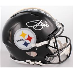 Le'Veon Bell  Antonio Brown Signed Pittsburgh Steelers Full-Size Authentic On-Field Speed Helmet (JS