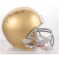 Joe Montana Signed Notre Dame Fighting Irish Full-Size Helmet (Steiner COA)