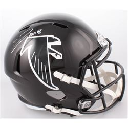 Calvin Ridley Signed Atlanta Falcons Throwback Full-Size Speed Helmet (Radtke COA)