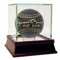 "Mariano Rivera Signed Black Leather Baseball Inscribed ""HOF 2019"" (Steiner COA)"