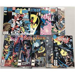 Lot of (25) 1985-97 DC Batman Comic Books
