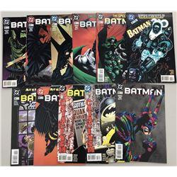 Lot of (32) 1995-2000 DC Batman Comic Books