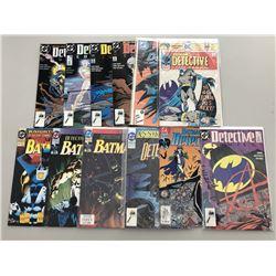 Lot of (25) 1976-2008 Detective Comics Batman Comic Books