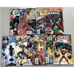 Lot of (22) Assorted Marvel Captain Marvel Comic Books