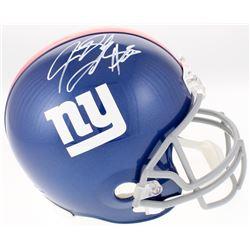 Jeremy Shockey Signed New York Giants Full-Size Helmet (JSA COA)