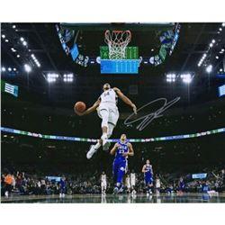 "Giannis Antetokounmpo Signed Milwaukee Bucks ""In Air"" 16x20 Photo (Fanatics Hologram)"
