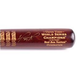 "David Ortiz Signed LE Boston Red Sox ""3X W.S.C."" Engraved Louisville Slugger Baseball Bat (Steiner C"