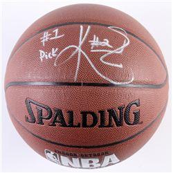 "Kyrie Irving Signed NBA Basketball Inscribed ""#1 Pick"" (PSA COA)"