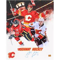 Johnny Gaudreau Signed Calgary Flames 16x20 Photo (Gaudreau Hologram)