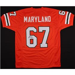 Russell Maryland Signed Miami Hurricanes Jersey (JSA COA)