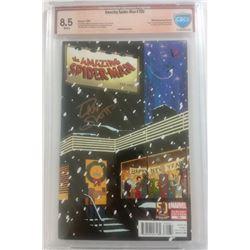 "Dan Slott Signed 2013 ""Amazing Spider-Man"" Issue #700B 50th Anniversary Variant Marvel Comic Book (C"