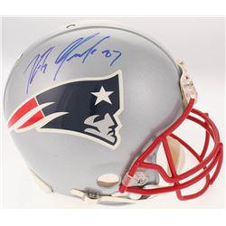 Rob Gronkowski Signed New England Patriots Full-Size Authentic On-Field Helmet (JSA LOA)