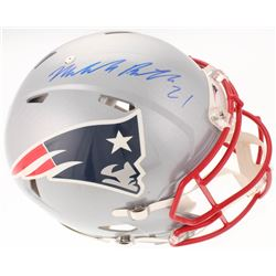 Malcolm Butler Signed New England Patriots Full-Size Authentic On-Field Speed Helmet (Steiner COA)