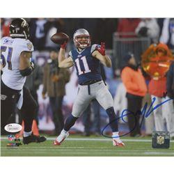 Julian Edelman Signed New England Patriots 8x10 Photo (JSA Hologram)